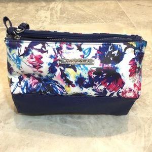 Tahari Floral Travel Cosmetic and Toiletries Bag
